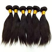 Lidské vlasy Vazby Peruánské vlasy Proste 18 měsíců Vazby na vlasy