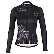 ILPALADINO Biciklistička majica Žene Dugi rukav BiciklVodootpornost Prozračnost Ugrijati Vjetronepropusnost Podstava od flisa Izolacija