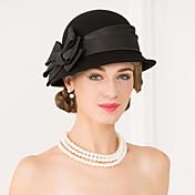 Mujer Lana Tejido Celada-Boda Ocasión especial Casual Sombreros 1 Pieza