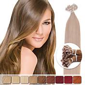 neitsi 20 '' 50 g 1 g / s pre lepené keratinu nehtu tip lidských prodlužování vlasů barevné zvýraznění remy vlasy