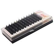 4 Trays/Lot Pestañas Pestaña Pestañas Individuales Ojos Hecho a mano Fibra Others 0.07mm 10mm