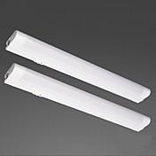 Luces LED de Armario Blanco Cálido LED 2 piezas