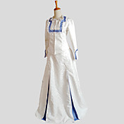 Accesorios Gosurori Inspiración Vintage Victoriano Cosplay Vestido  de Lolita Jacquard Manga Larga Hasta el Suelo Esmoquin por Satén