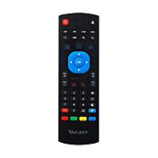 MX3のm8sためmeasy gp811高品質2.4グラムリモートコントロールエアマウスワイヤレスキーボードHTPCスマートテレビアンドロイドミニPCのTVボックスをT95