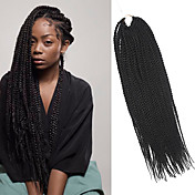 Senegal Trenza de la torcedura Extensiones de cabello 20Inch Kanekalon 35 Strands (Recommended By 3 Packs for a Full Head) Hebra 98g gramo