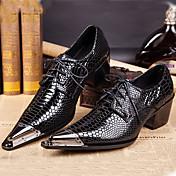 メンズ 靴 ナパ革 春 夏 秋 冬 フォーマルシューズ オックスフォードシューズ 用途 カジュアル パーティー ブラック