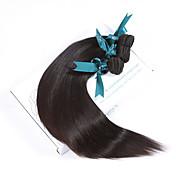 人間の髪編む マレーシアンヘア ストレート 12ヶ月 3個 ヘア織り