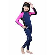 BlueDive® 女性用 男性用 子供用 2mm ウェットスーツ フルウェットスーツ 保温 速乾性 抗紫外線 フルボディー ビデオ圧縮 ソフト ナイロン ネオプレン 潜水服 長袖 スイムウェア ダイビングスーツ-水泳 潜水 サーフィン シュノーケリング パッチワーク