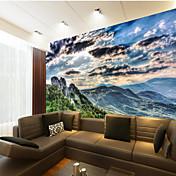 アールデコ調 3D ホームのための壁紙 コンテンポラリー ウォールカバーリング , キャンバス 材料 接着剤必要 壁画 , ルームWallcovering
