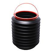 cubos de basura coche mejor caja de almacenamiento bin barril plegable auto basura cubo de agua contenedor de regalo mágico viaje por