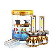 2017 nueva 9800lm 9003 h4 120w llevó kit de faros mazorca chip de 6000K bombillas 8000K lámparas par luz
