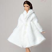 多くのアクセサリー ために バービー人形 コート ために 女の子の 人形玩具