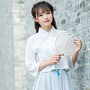 女性の春の新しい漢の衣類の要素を署名'日常生活改善の学生サービス