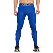 Vansydical® Hombre Pantalones de Running Secado rápido Transpirable Leggings Ropa de Compresión Medias/Mallas Largas Prendas de abajo para