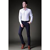 2017 nuevos hombres&# 39; s pantalones casuales pantalones de hombre delgado coreano pantalones cortos negro tendencia de los