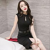実際に2017年のプロの女性を作り出しています'ファッションセクシーなパッケージヒップオルティス韓国スリム夏のドレス