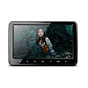 10.1インチ1024 * 600 hdデジタルtftスクリーン超薄型デザインタッチボタン車ヘッドレストdvdプレーヤーusb / sd / fm / ir /無線ゲームとhdmiポート
