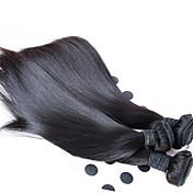 longitud de la mezcla barata armadura del pelo malasio, barata recta tejer del pelo humano