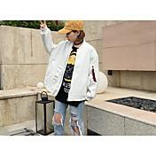 Tienda de la muestra, * 2017 primavera harajuku bf viento webbing carta hermosa chaqueta de béisbol chaqueta