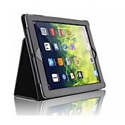 のために スタンド付き 磁石バックル ケース フルボディー ケース ソリッドカラー ハード PUレザー のために Apple iPad(2017) iPad Pro 9.7'' iPad Air 2 iPad Air iPad 4/3/2