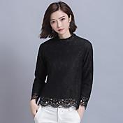 signo de la primavera 2017 nuevas mujeres coreanas atan la blusa floja fina