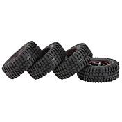 Općenito RC Tires Guma RC automobili / Buggy / Kamioni Crvena Crna Guma pet Plastika 4pcs