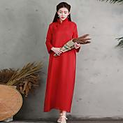 firmar vestido de traje ropa yacía yang té liping ropa suelta estaba vestido de seda fina nuevo día