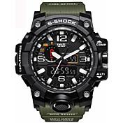 Hombre Niños Niño Reloj Deportivo Reloj Militar Reloj de Vestir Reloj Smart Reloj de Moda Reloj de Pulsera Reloj Pulsera Digital LED