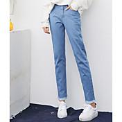 Pour states 2 signo qing yun 2017 primavera nuevos modelos de explosión denim pantalones burr ins harem pantalones