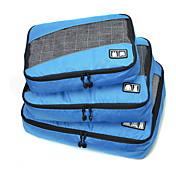 Bolsa de Viaje Plegable Portable Duradero Gran Capacidad para Almacenamiento para Viaje Accesorios de EquipajeTejido Tela en Red