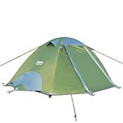 DesertFox® 2 Personas Tienda Doble Carpa para camping Tienda de Campaña Plegable Impermeable Resistente a la lluvia 2000-3000 mm para
