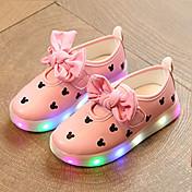 女の子-ウェディング アウトドア カジュアル-PUレザー-ローヒール-ルミナス靴 赤ちゃん用靴 靴を点灯-スニーカー-