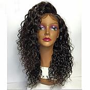 Premijera labav curl vala čipka prednja ljudska kosa perika-glueless 130% 150% 180% gustoće brazilske djevice remy perike s bebom kose