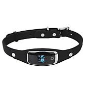 Dmdg mini impermeable de silicona mascotas collar gps anti-perdido tracker - negro