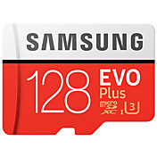 Samsung 128gb micro sd tarjeta tf tarjeta tarjeta de memoria uhs-i u3 class10 evo más 100mb / s