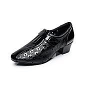 Zapatos de baile-No Personalizables-Hombre-Latino-Tacón Bajo-Cuero-