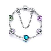 Dámské Náramky s přívěšky přátelství Módní Slitina Round Shape Šperky Pro Vánoční dárky 1ks