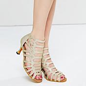 Zapatos de baile(Negro / Rojo / Oro) -Danza del Vientre / Latino / Jazz / Zapatillas de Baile / Moderno / Samba / Zapatos de Swing-