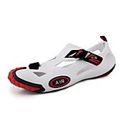 Zapatos de Hombre - Sandalias - Exterior / Casual - PVC - Negro / Rojo / Blanco