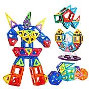 ブロックおもちゃ 知育玩具 磁気ブロック ギフトのため ブロックおもちゃ ゲーム&パズル サーキュラー 四角形 三角形 ポリカーボネート 2~4歳 5~7歳 8~13歳 14歳以上 おもちゃ
