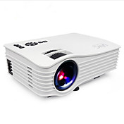 LCD WVGA (800x480) Proyector,LED 1200 Portátil HD Wireless Proyector
