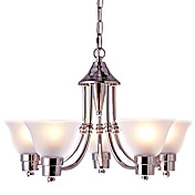 Lámparas Colgantes ,  Moderno / Contemporáneo Tradicional/Clásico Níquel Característica for Mini Estilo Los diseñadores Estilo de la vela