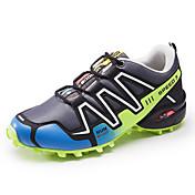 Hombre Zapatillas de Atletismo Confort PU Primavera Verano Otoño Invierno Deportivo Casual Running Con CordónAzul Oscuro Gris Verde Azul