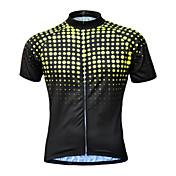 Camisa para Ciclismo Homens Manga Curta Moto Camisa/Roupas Para EsporteSecagem Rápida Respirável Macio Bolso Traseiro Redutor de Suor