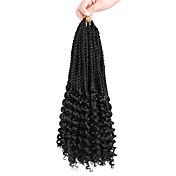 háčkované Twist prýmky Prodloužení vlasů vlasy copánky