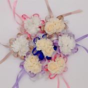 10 Piezas 10 Rama Seda PU Otros Rosas Flor de Mesa Flores Artificiales