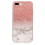 Pro iPhone X iPhone 8 Pouzdra a obaly IMD Zadní kryt Carcasă Mramor Měkké TPU pro Apple iPhone X iPhone 8 Plus iPhone 8 iPhone 7 Plus