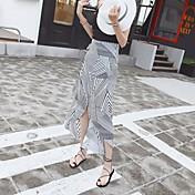 レディース セクシー ブランコ お出かけ カジュアル/普段着 Midi スカート 幾何学模様