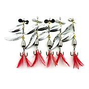 5 個 バズベイト&スピナーベイト スプーン メタルベイト グラム/オンス mm インチ 海釣り フライフィッシング ベイトキャスティング スピニング バス釣り ルアー釣り 一般的な釣り 流し釣り/船釣り
