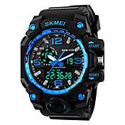SKMEI Hombre Reloj Deportivo Reloj digital Digital Silicona Banda Negro